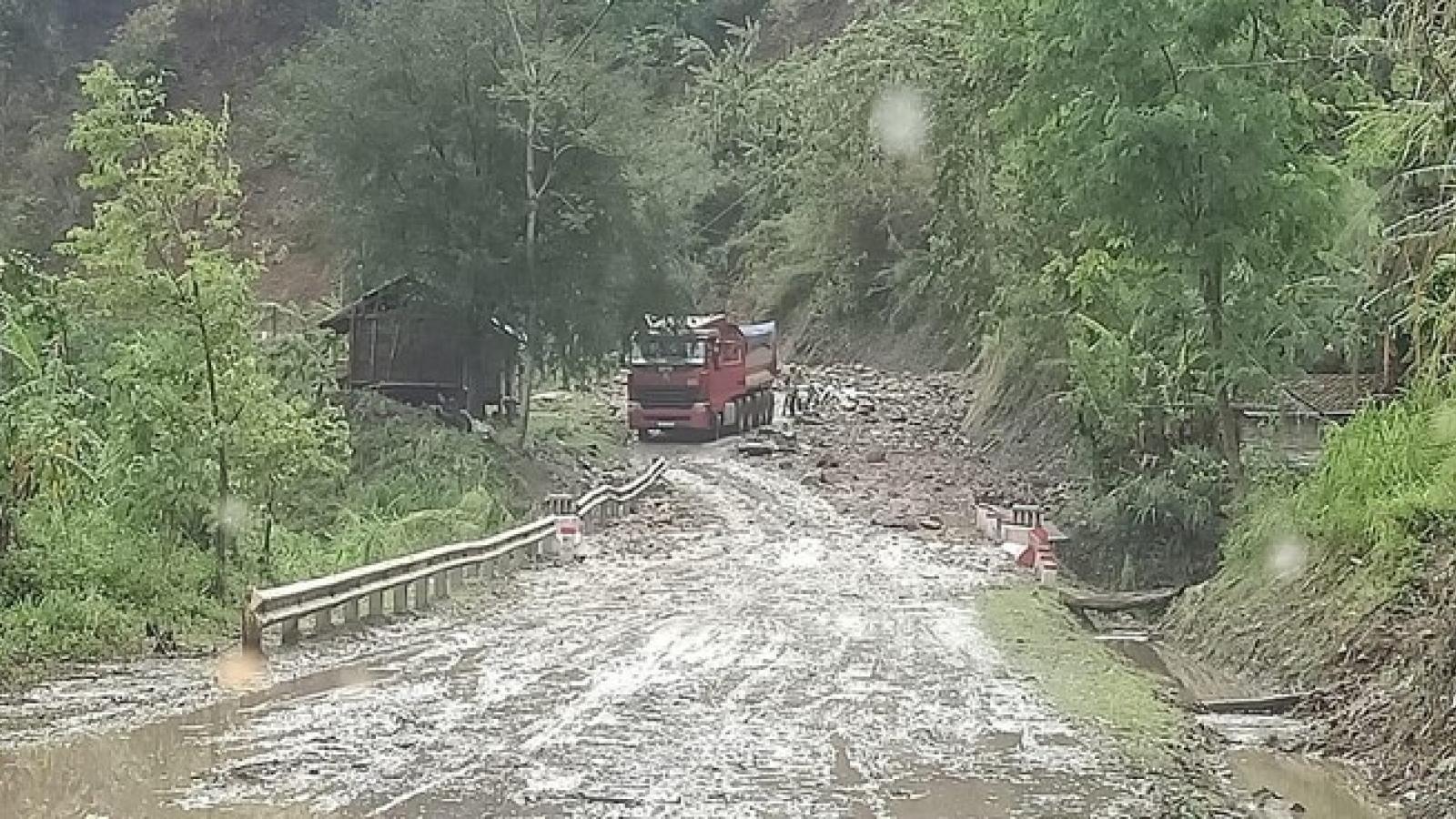 3 người chết, 3 người bị thương do mưa lũ ở các tỉnh miền núi Bắc bộ