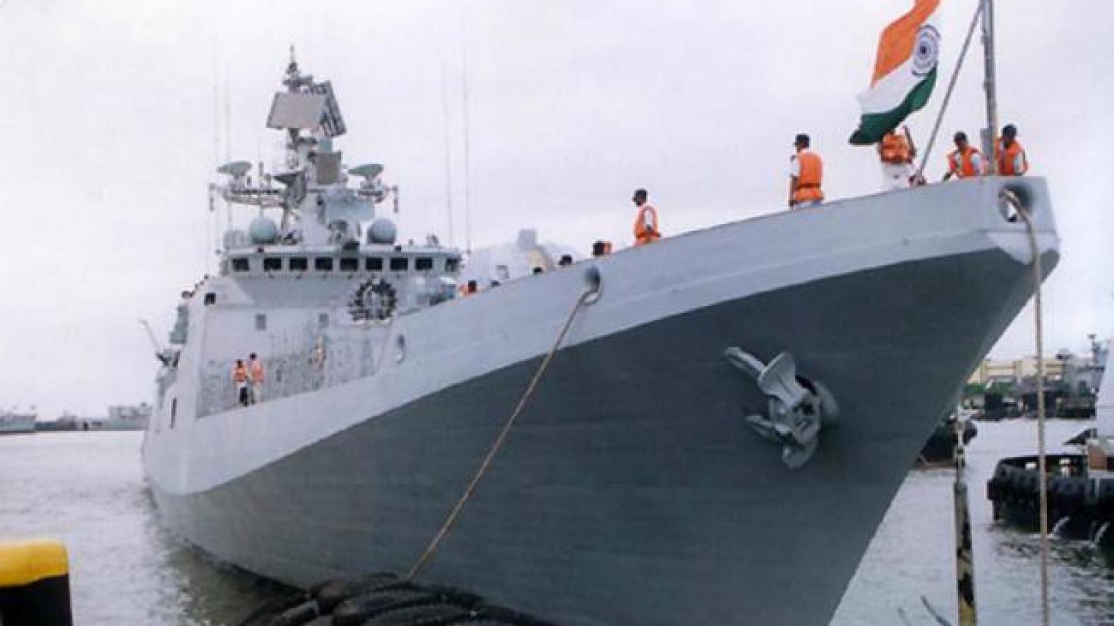 26 binh sĩ Hải quân Ấn Độ mắc Covid-19