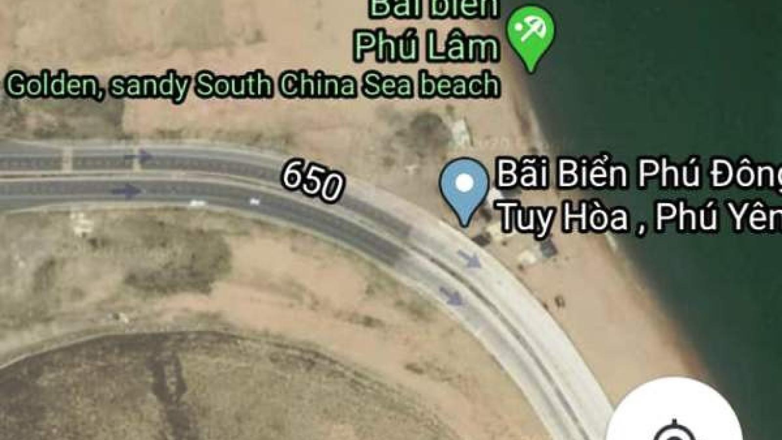 Phản bác Google Maps thông tin sai sự thật về bãi biển ở Phú Yên
