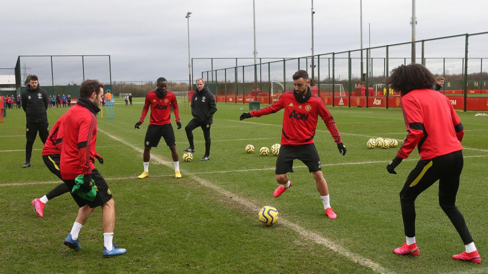 Cầu thủ MU sẽ trở lại tập luyện vào ngày 18/5