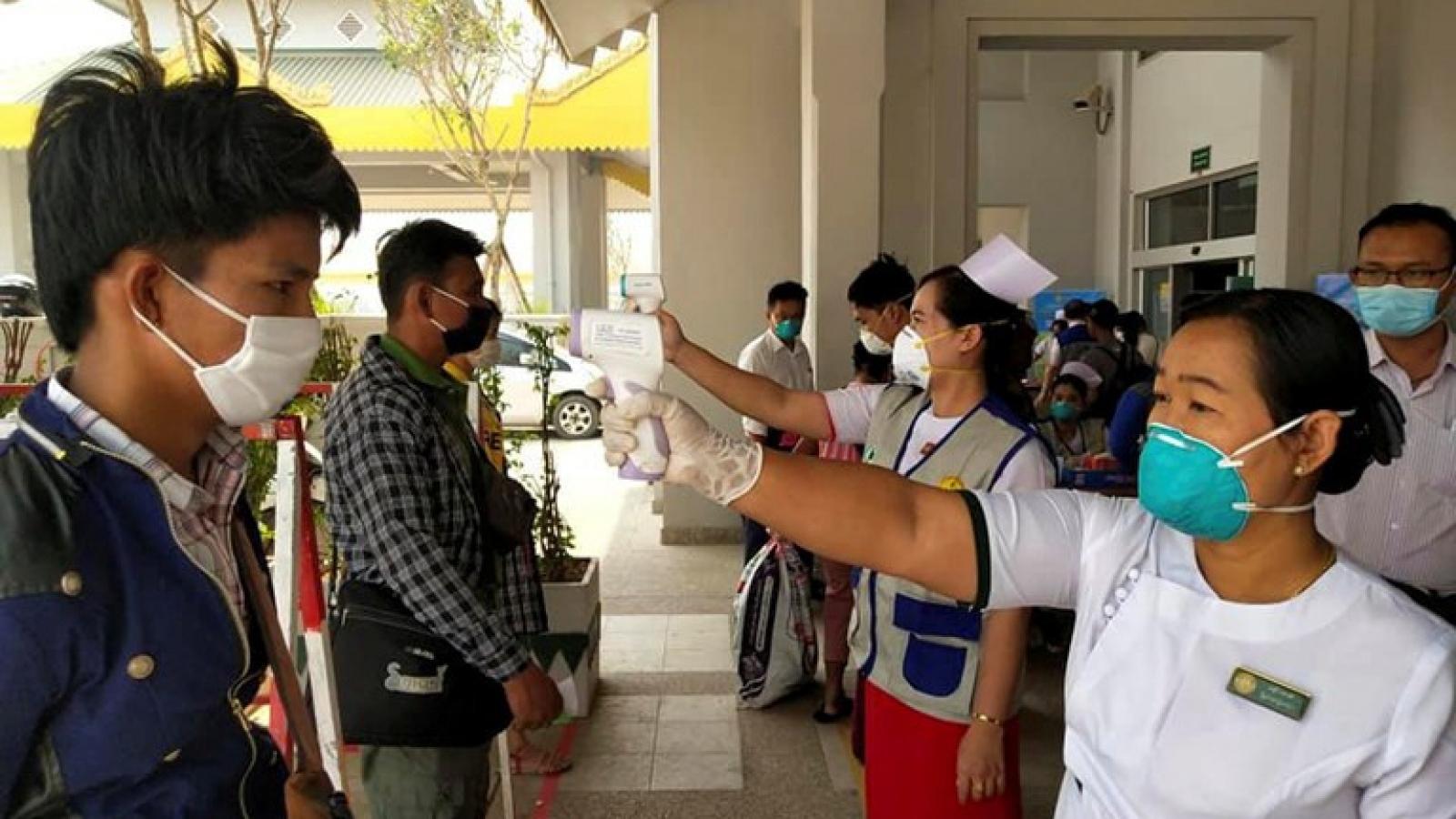 Myanmar đã có 3 án tù giam vì vi phạm lệnh cách ly