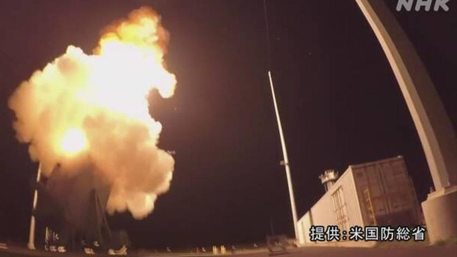 Mỹ - Nhật Bản thử tên lửa chống tên lửa đạn đạo đối phó Triều Tiên