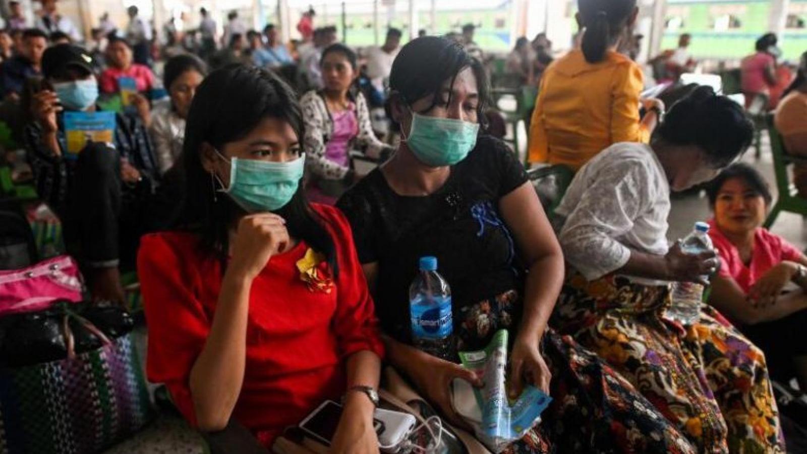 Myanmar kéo dài thời gian đình chỉ các chuyến bay quốc tế đến 15/5