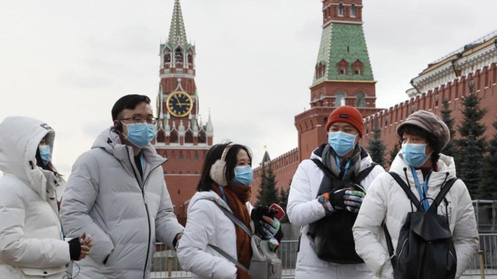 Nga ghi nhận gần 58.000 trường hợp mắc Covid-19