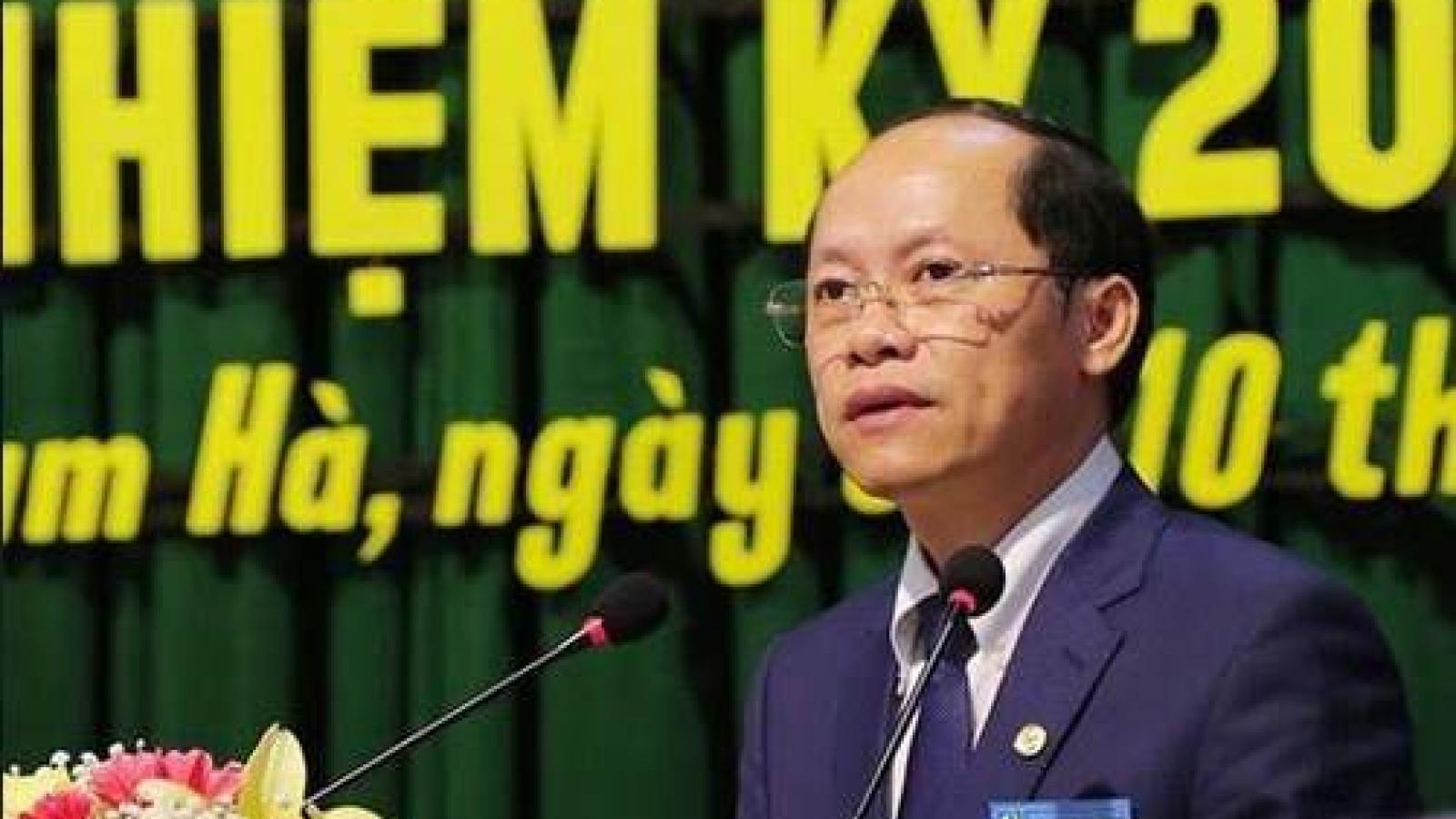 Ông Nguyễn Hồng Lĩnh được bầu giữ chức Phó Chủ tịch tỉnh Hà Tĩnh