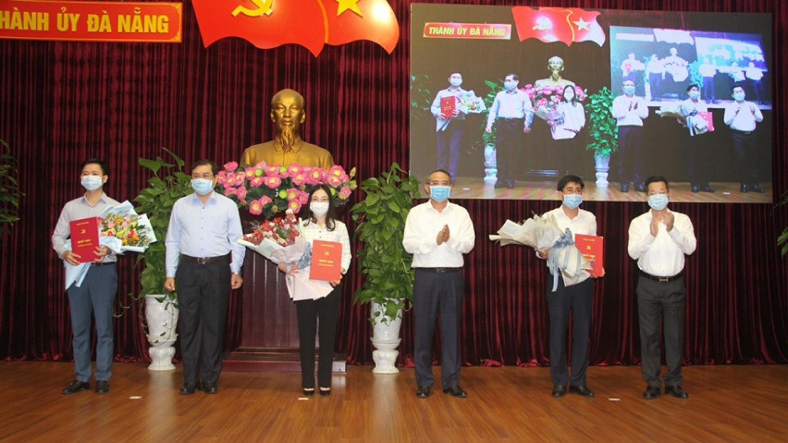 Ban Bí thư chuẩn y 3 Ủy viên Ban Chấp hành Đảng bộ thành phố Đà Nẵng
