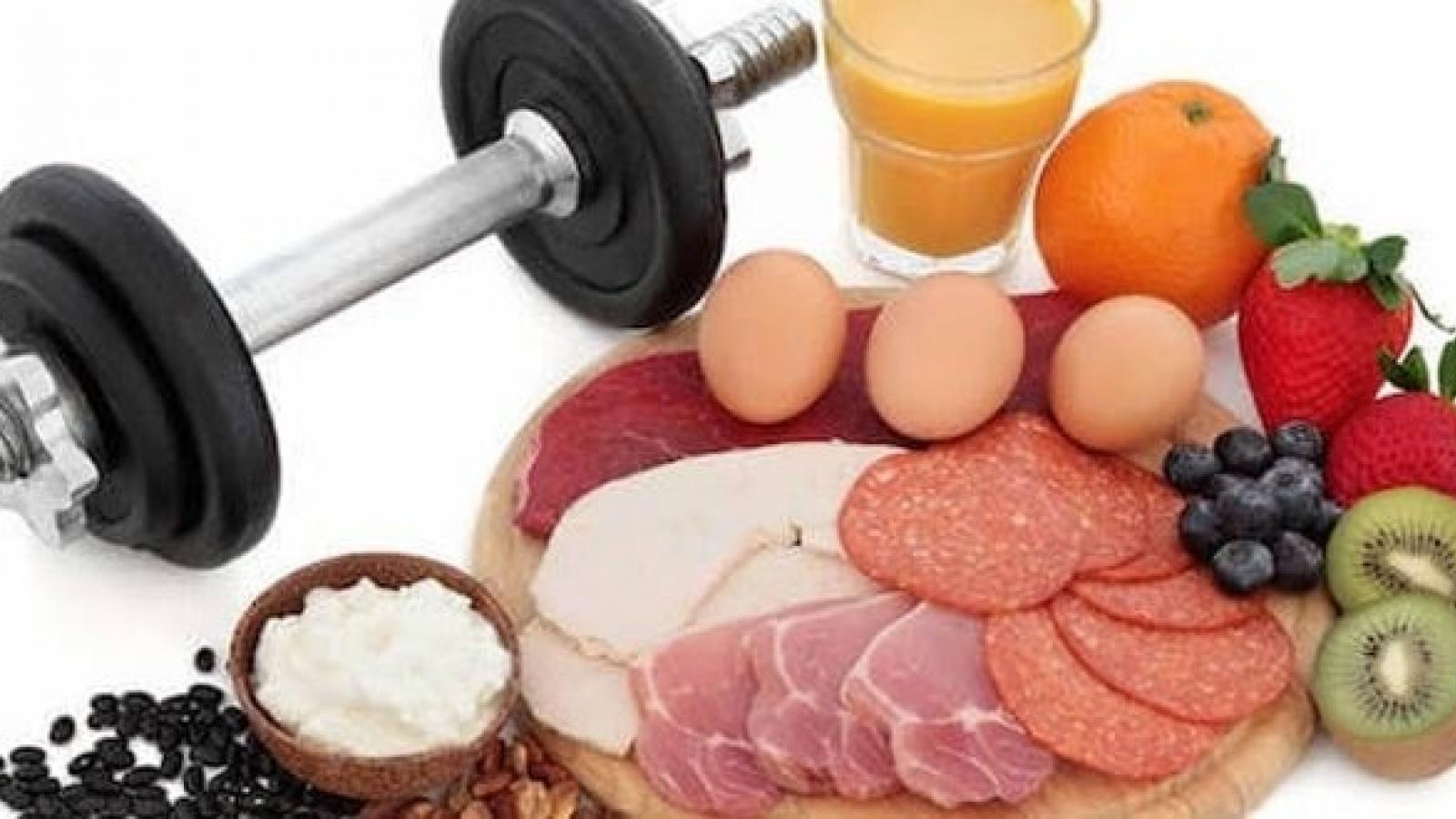 Dinh dưỡng hợp lý khi tăng cường vận động ở nhà mùa dịch bệnh