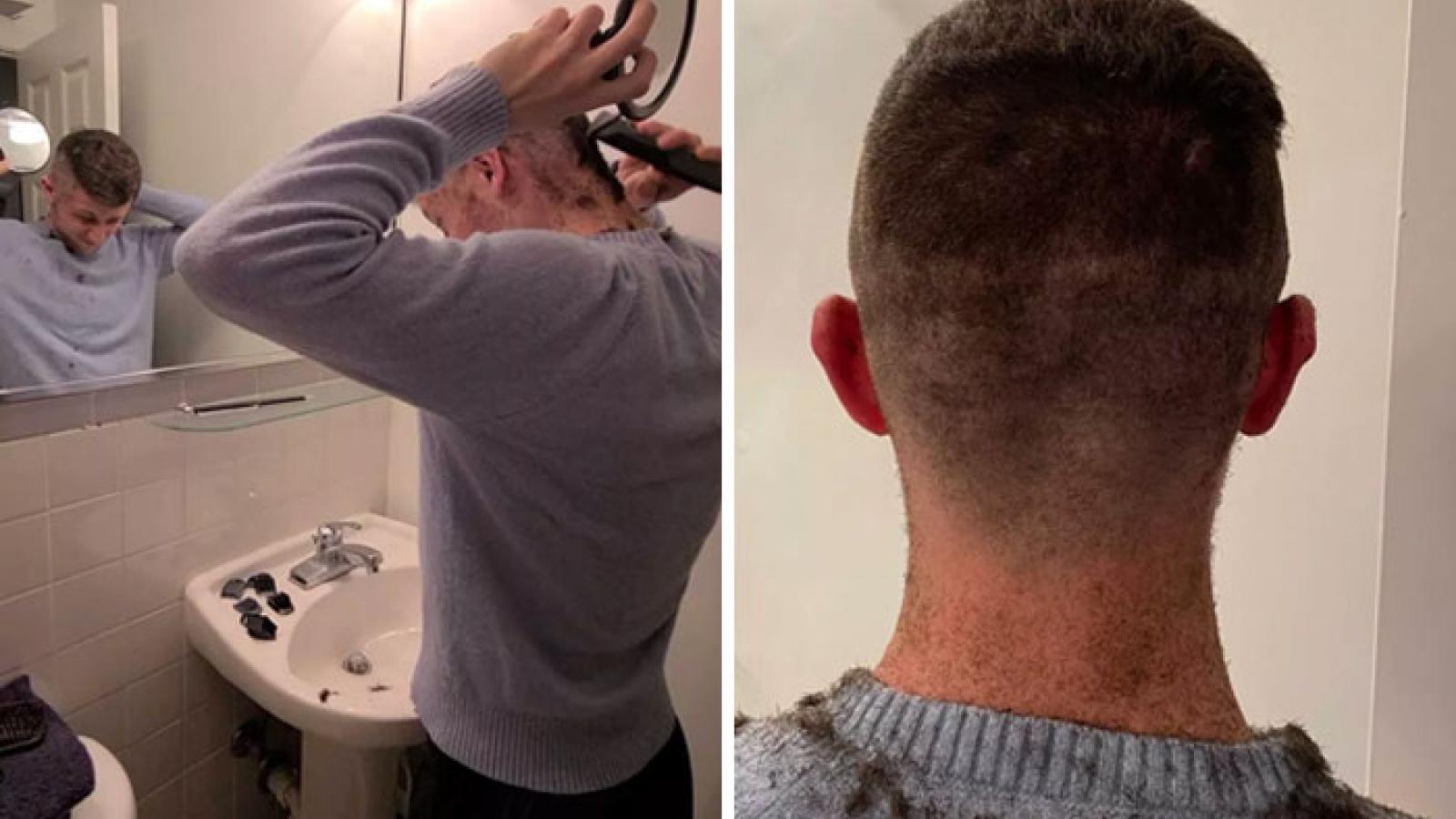 Cười vỡ bụng với các kiểu tóc thảm hoạ khi tự cắt tại nhà vì Covid-19