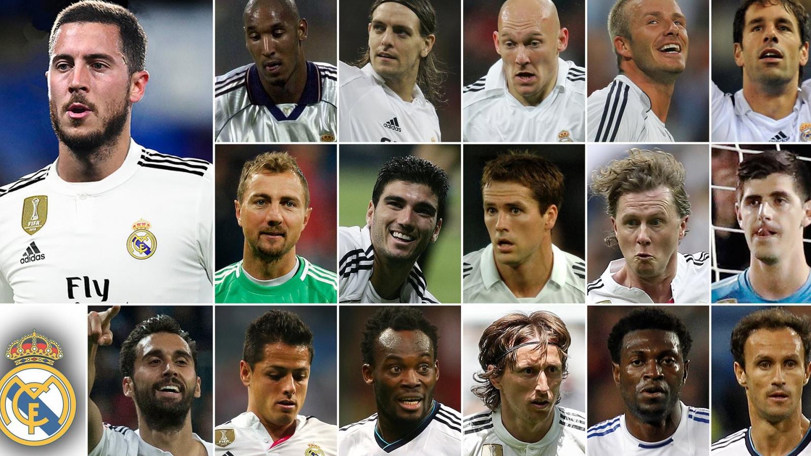 Những ngôi sao rời khỏi Premier League để đi theo tiếng gọi của Real Madrid