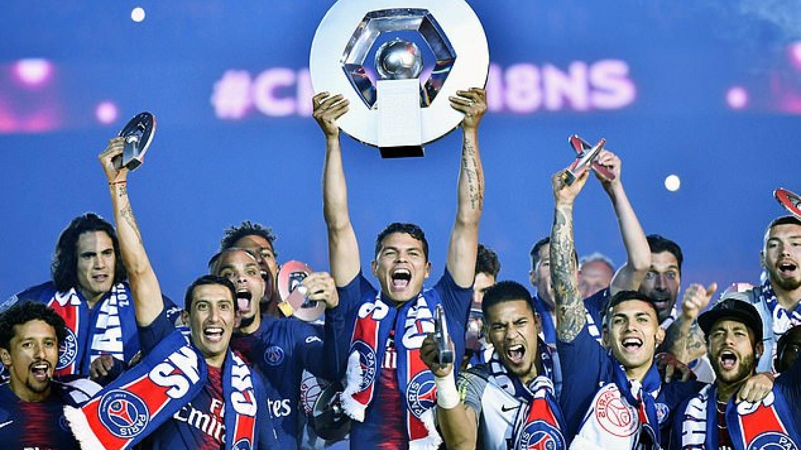 PSG được trao chức vô địch Ligue 1