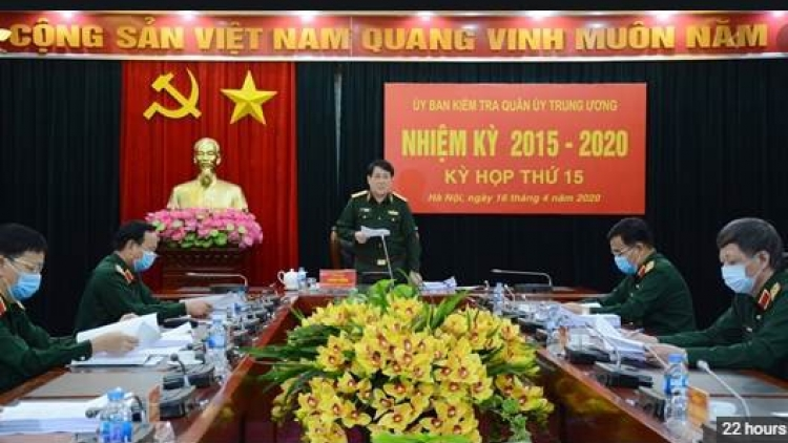 Ủy ban Kiểm tra Quân ủy TƯ: Kỷ luật 4 tổ chức đảng, 23 đảng viên