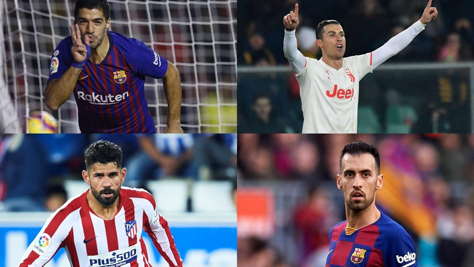 Ronaldo và top 10 cầu thủ rớt giá thê thảm nhất của bóng đá thế giới
