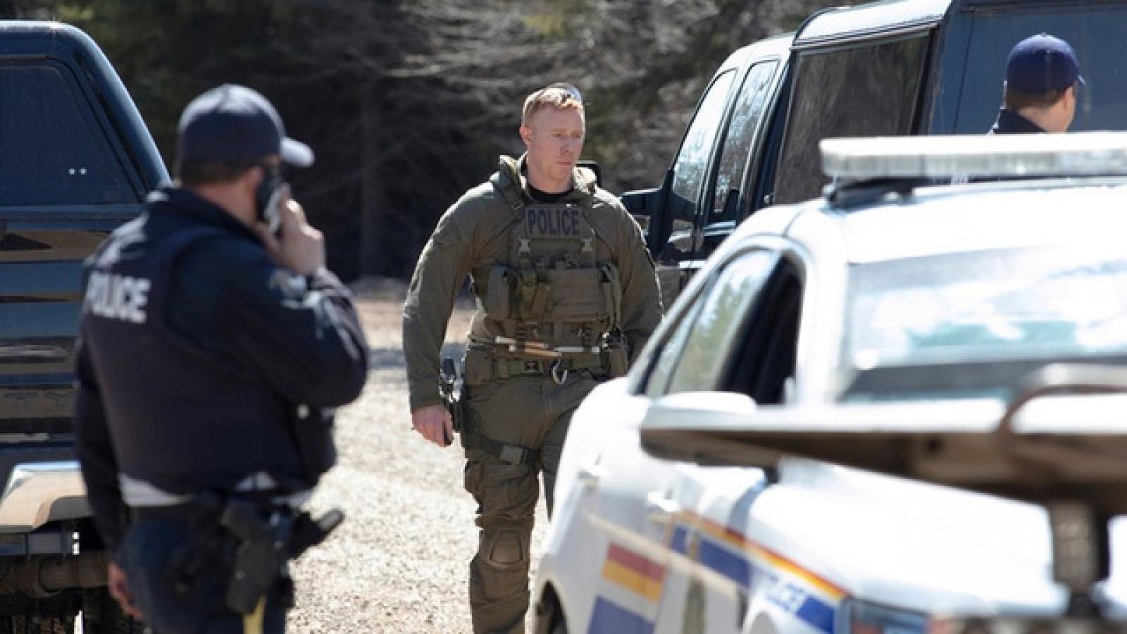 Xả súng tại Canada khiến ít nhất 10 người thiệt mạng