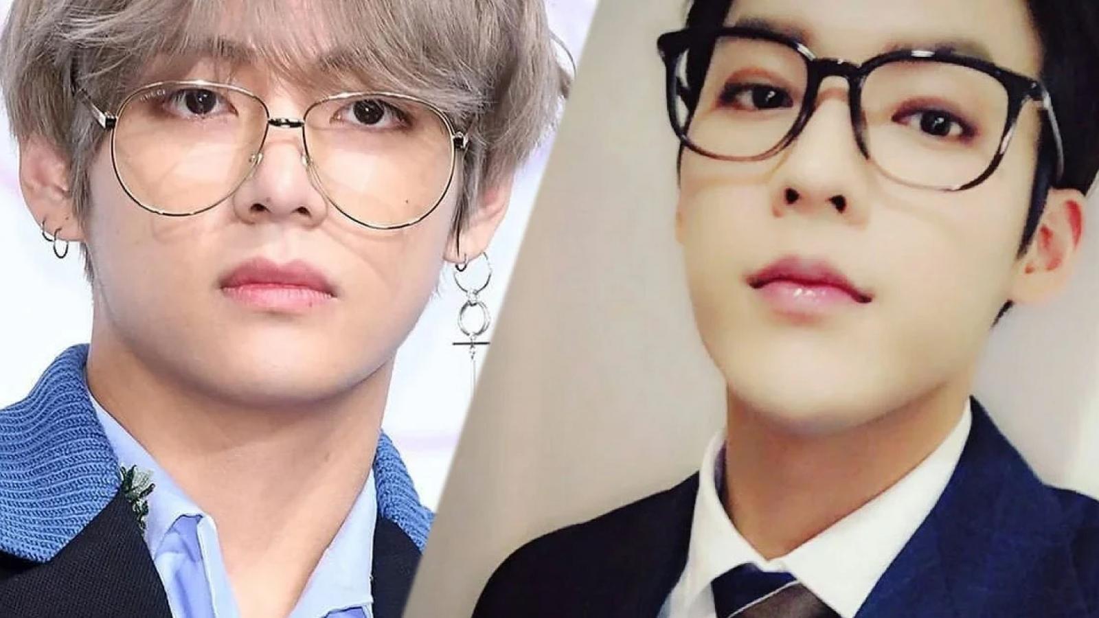 V (BTS), Lisa (Black Pink) biến hóa phong thái với kính thời trang