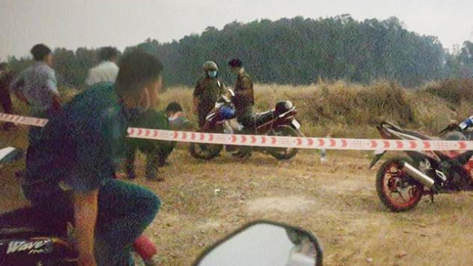 Thi thể ở Bình Chánh: Nghi nạn nhân bị cướp cắt cổ, lấy xe