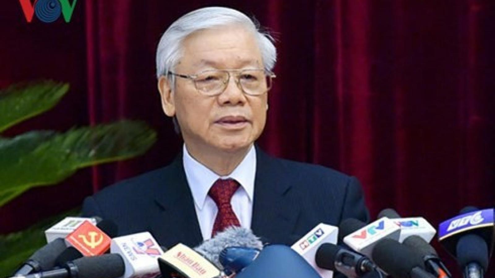 Bài viết của Tổng Bí thư, Chủ tịch nước về công tác chuẩn bị nhân sự Đại hội