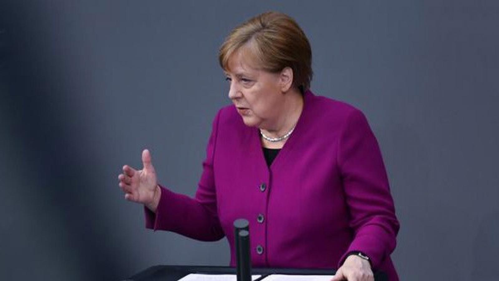 """Thủ tướng Đức Merkel: """"WHO là đối tác không thể thiếu"""""""