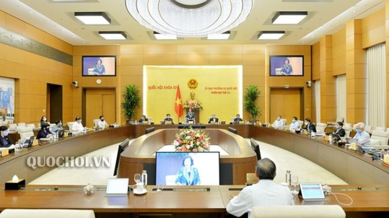 Khai mạc phiên họp 44 Ủy ban Thường vụ Quốc hội