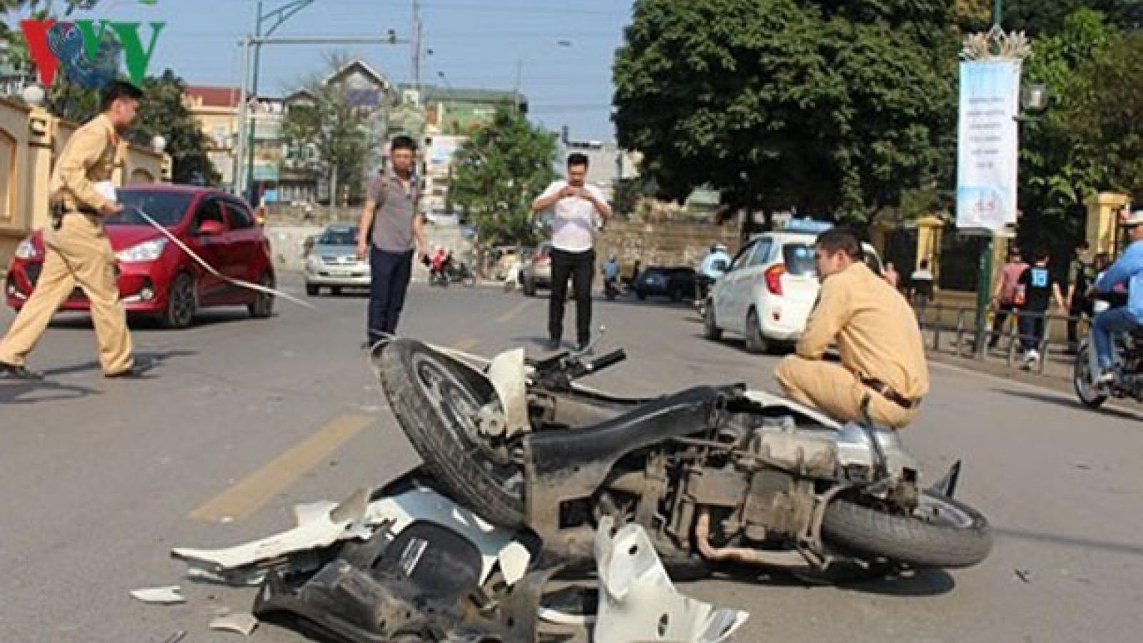 2.138 người chết vì tai nạn giao thông trong 4 tháng đầu năm