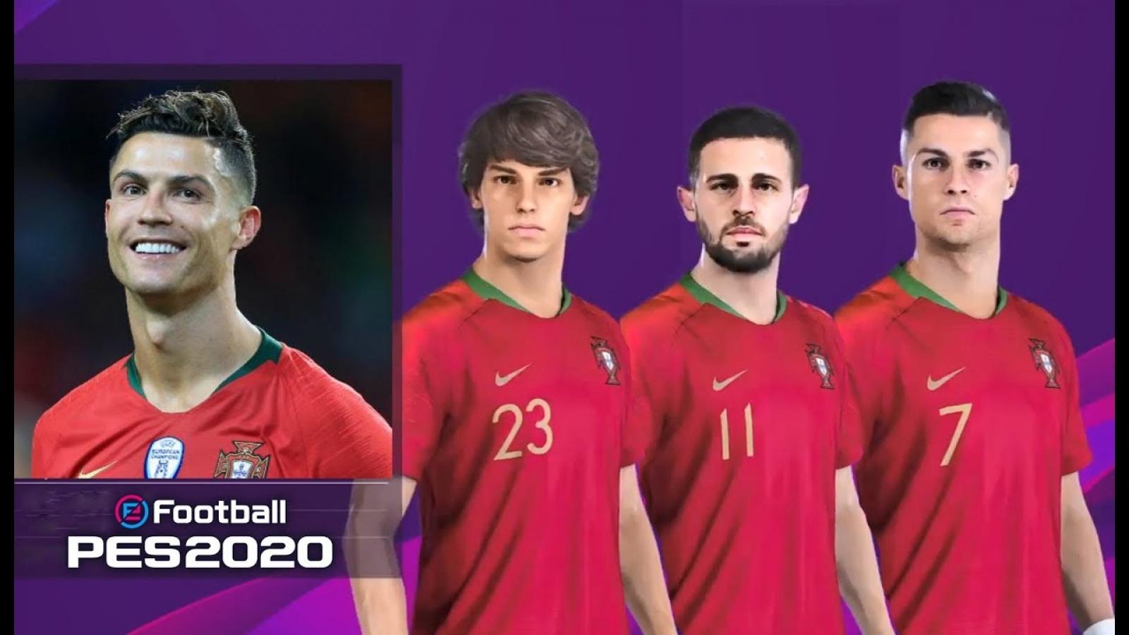 Top 10 cầu thủ Bồ Đào Nha khéo nhất PES 2020: Ronaldo vẫn thua 1 người