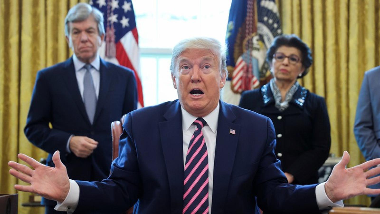 """Ông Trump tự nhận là """"Tổng thống chăm chỉ nhất lịch sử"""""""