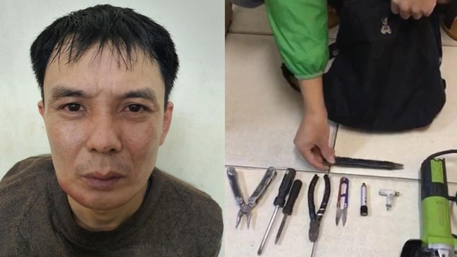 Đột nhập nhiều nhà dân ở Hà Nội trộm cắp tài sản