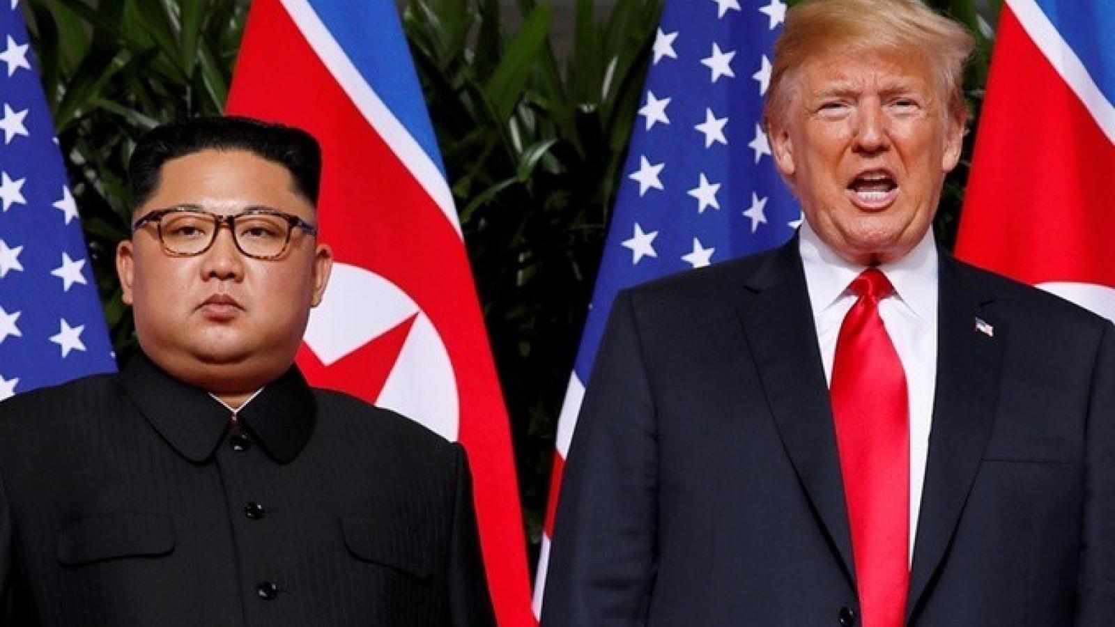 Triều Tiên bác tin ông Kim Jong-un gửi thư cho ông Trump