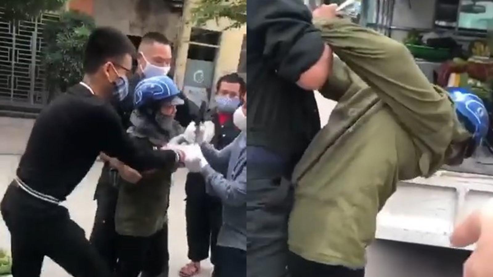 Yêu cầu lãnh đạo phường Bãi Cháy đến nhà xin lỗi người bán rau rong
