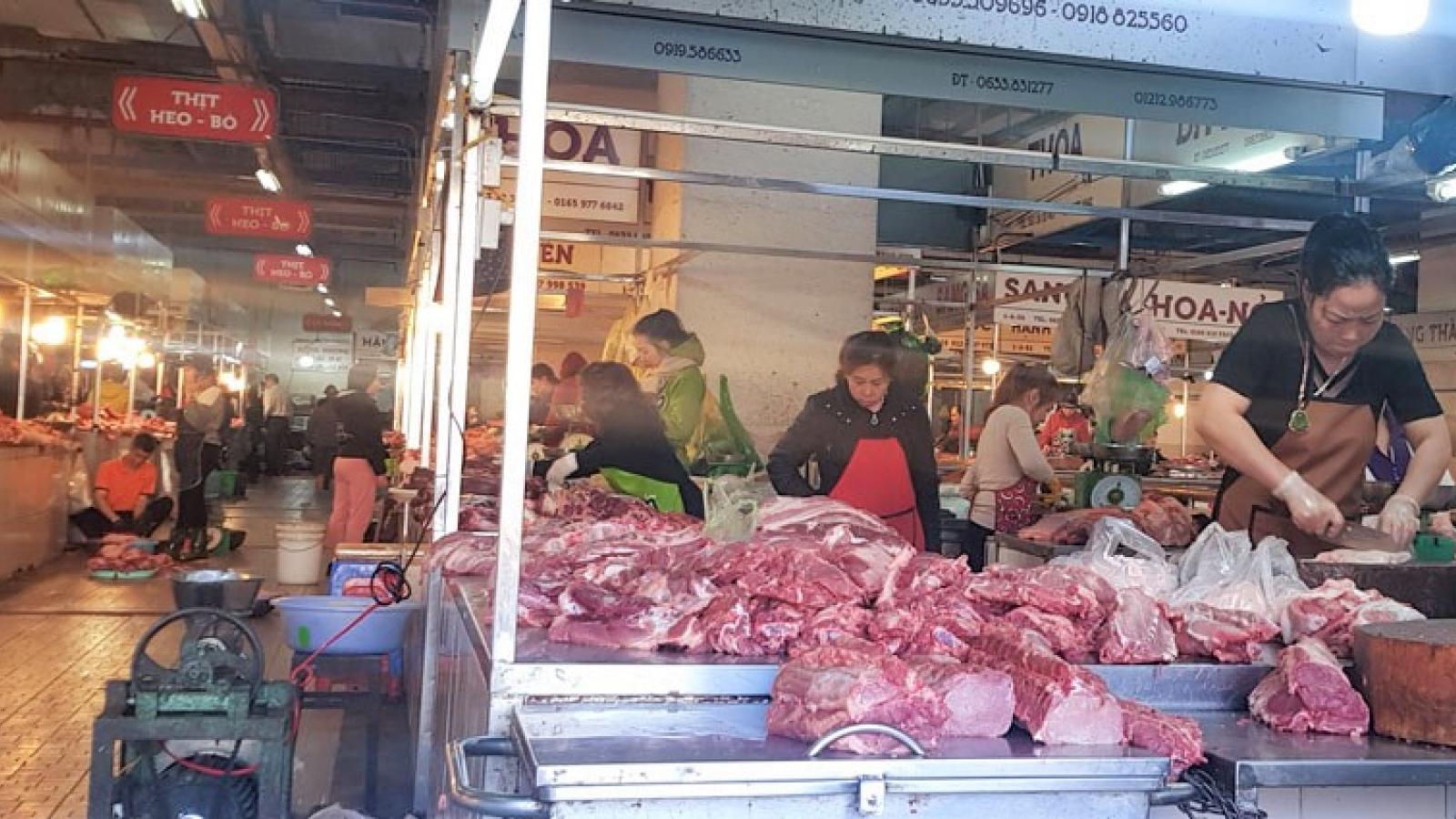 Giá thịt heo ở Lâm Đồng không giảm mà còn tăng