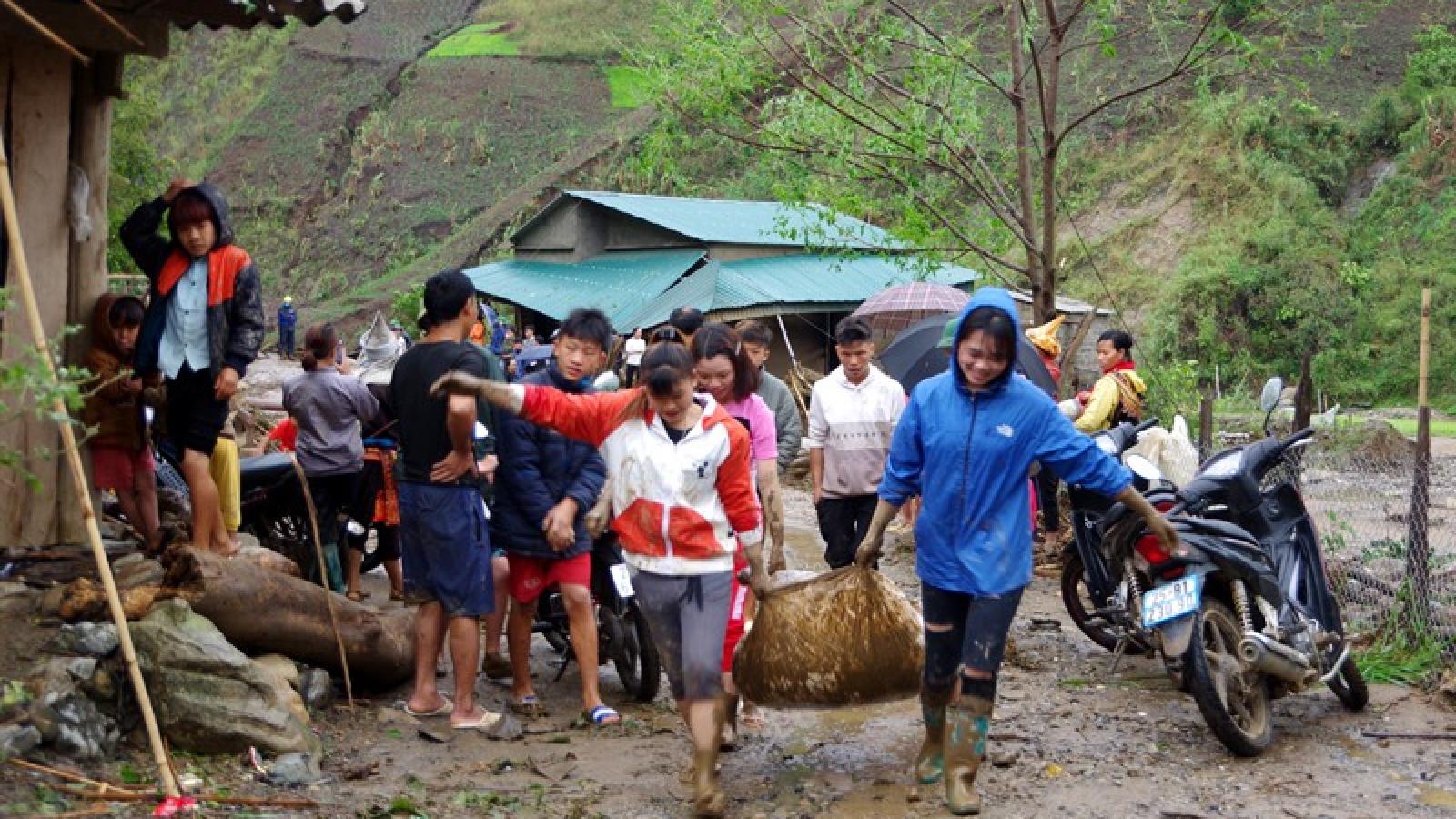 Các tỉnh Tây Bắc khẩn trương hỗ trợ người dân khắc phục thiệt hại do thiên tai