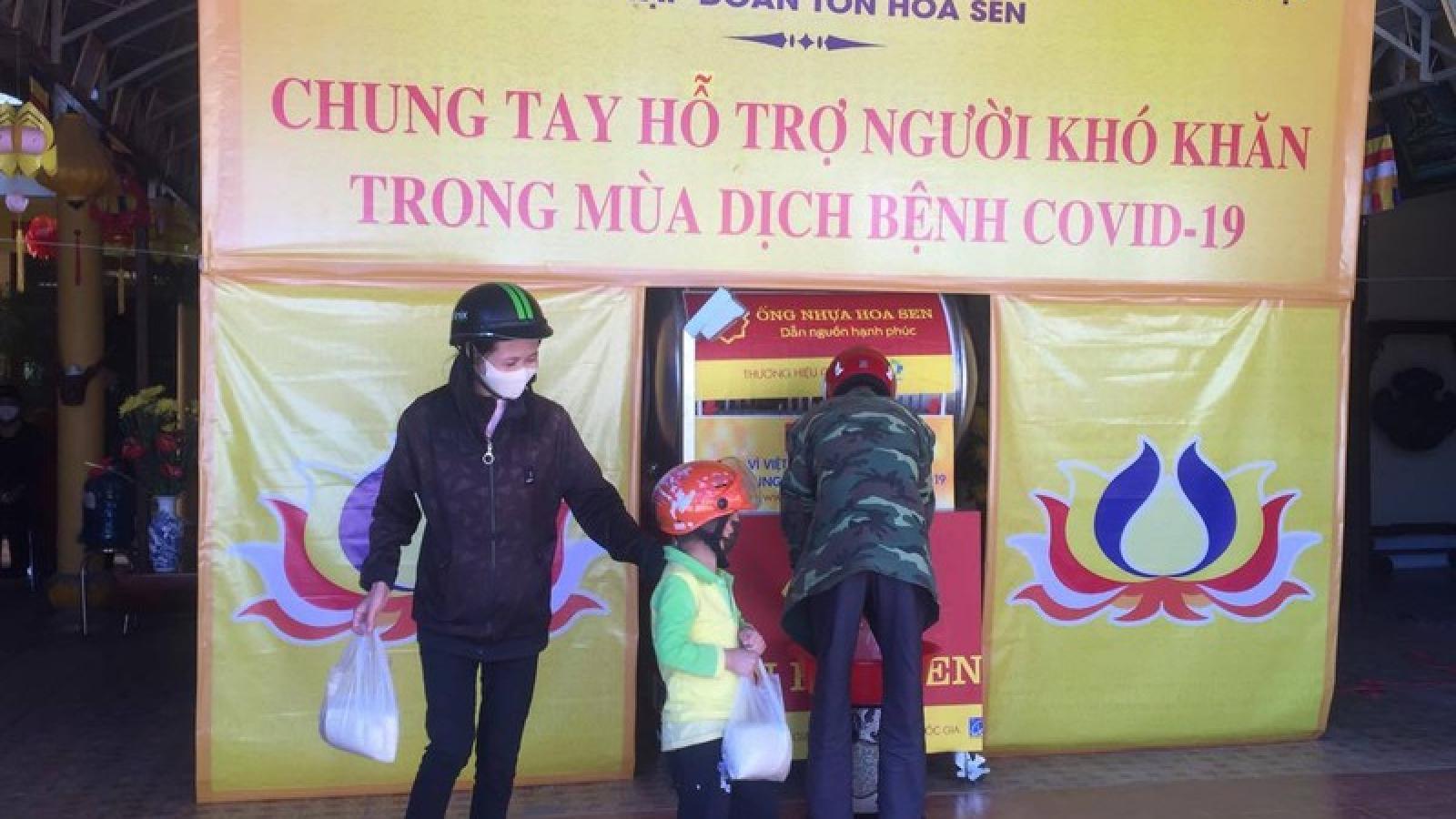 Lâm Đồng khởi động nhiều ATM gạo hỗ trợ người khó khăn