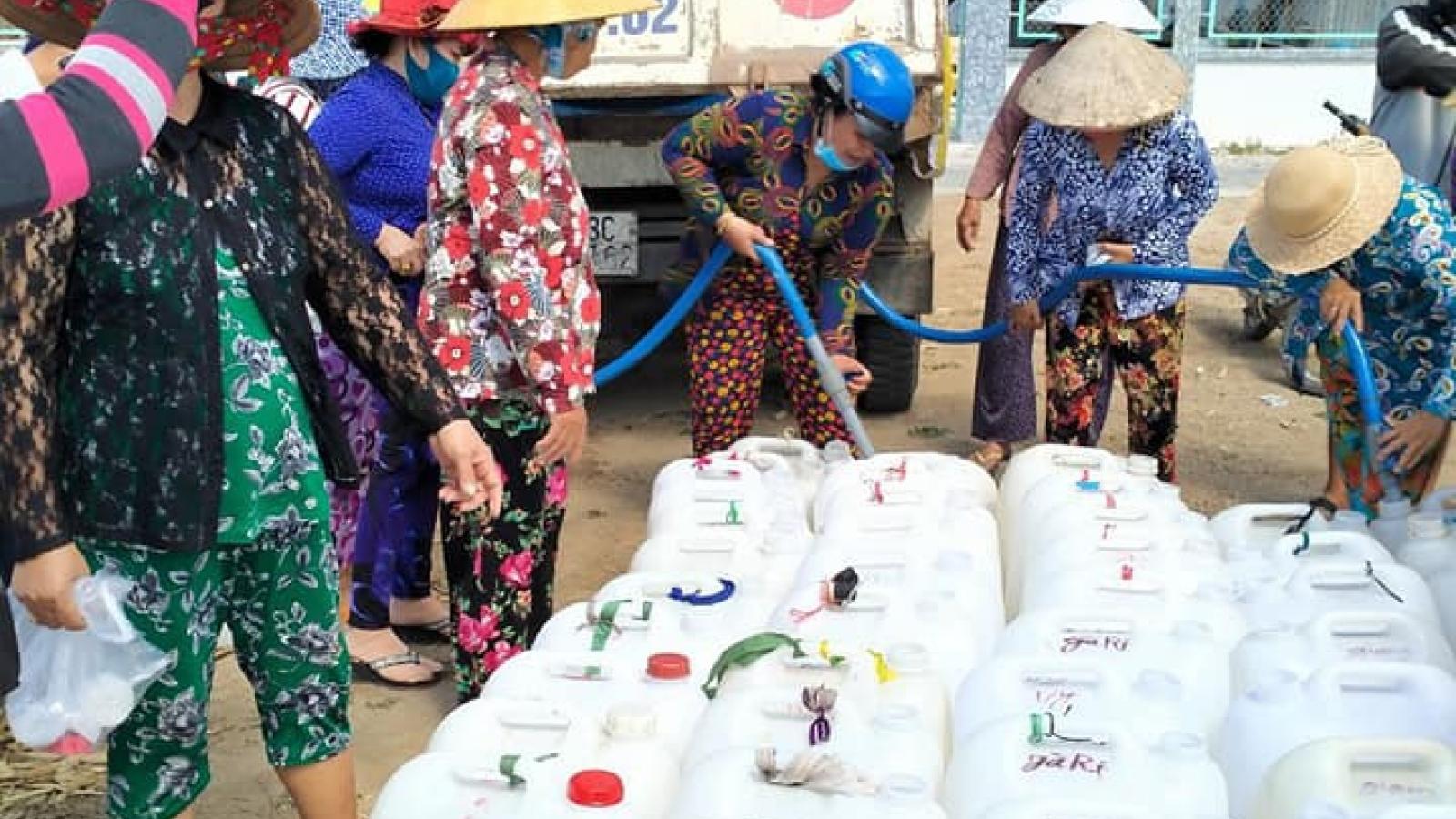 Tiền Giang: Lần đầu vùng đất cù lao không thiếu nước sinh hoạt mùa khô