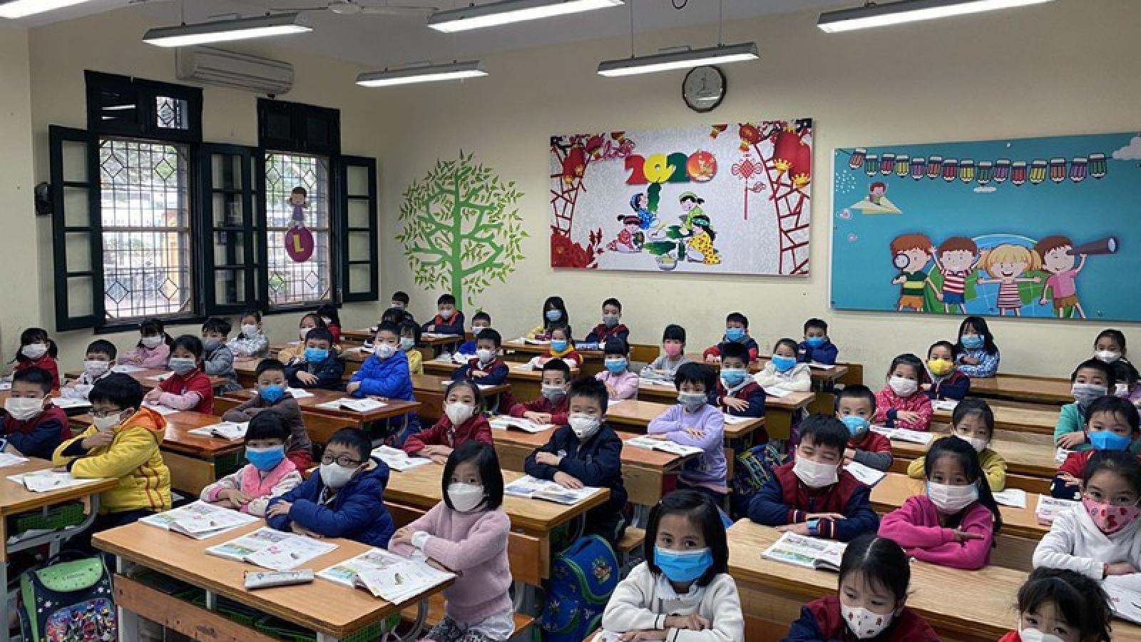 Hà Nội cho HS,SV đi học trở lại từ ngày 4/5, riêng tiểu học, mầm non từ ngày 11/5