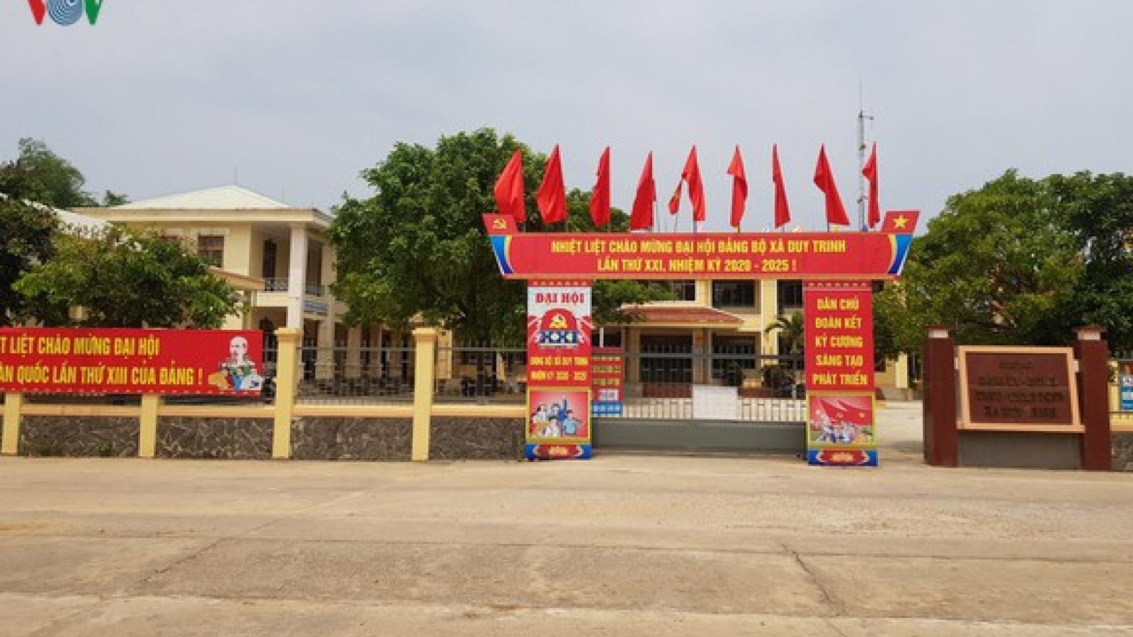 Quảng Nam tổ chức Đại hội Đảng bộ cấp huyện trong tháng 6