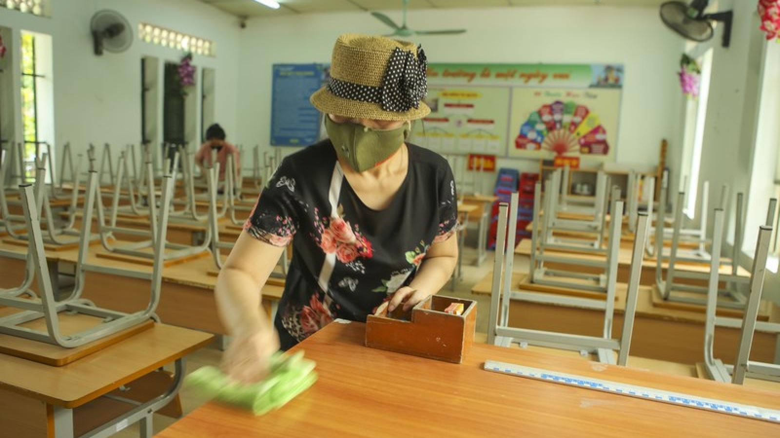 Điện Biên chuẩn bị tốt các điều kiện để học sinh đi học trở lại