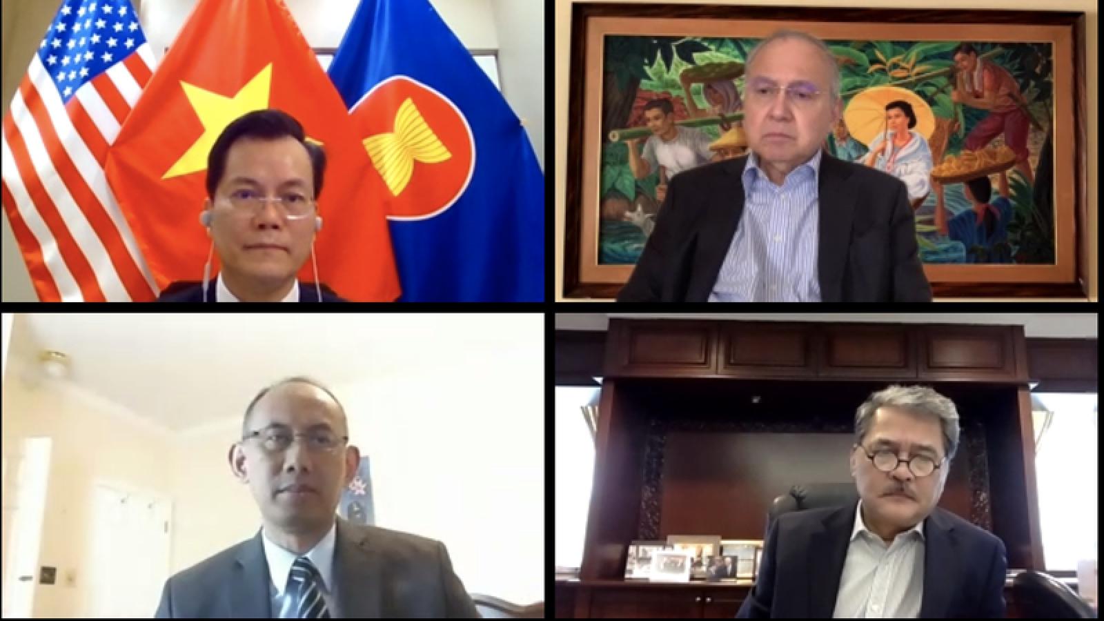 Đại diện các nước ASEAN đánh giá cao vai trò Chủ tịch của Việt Nam