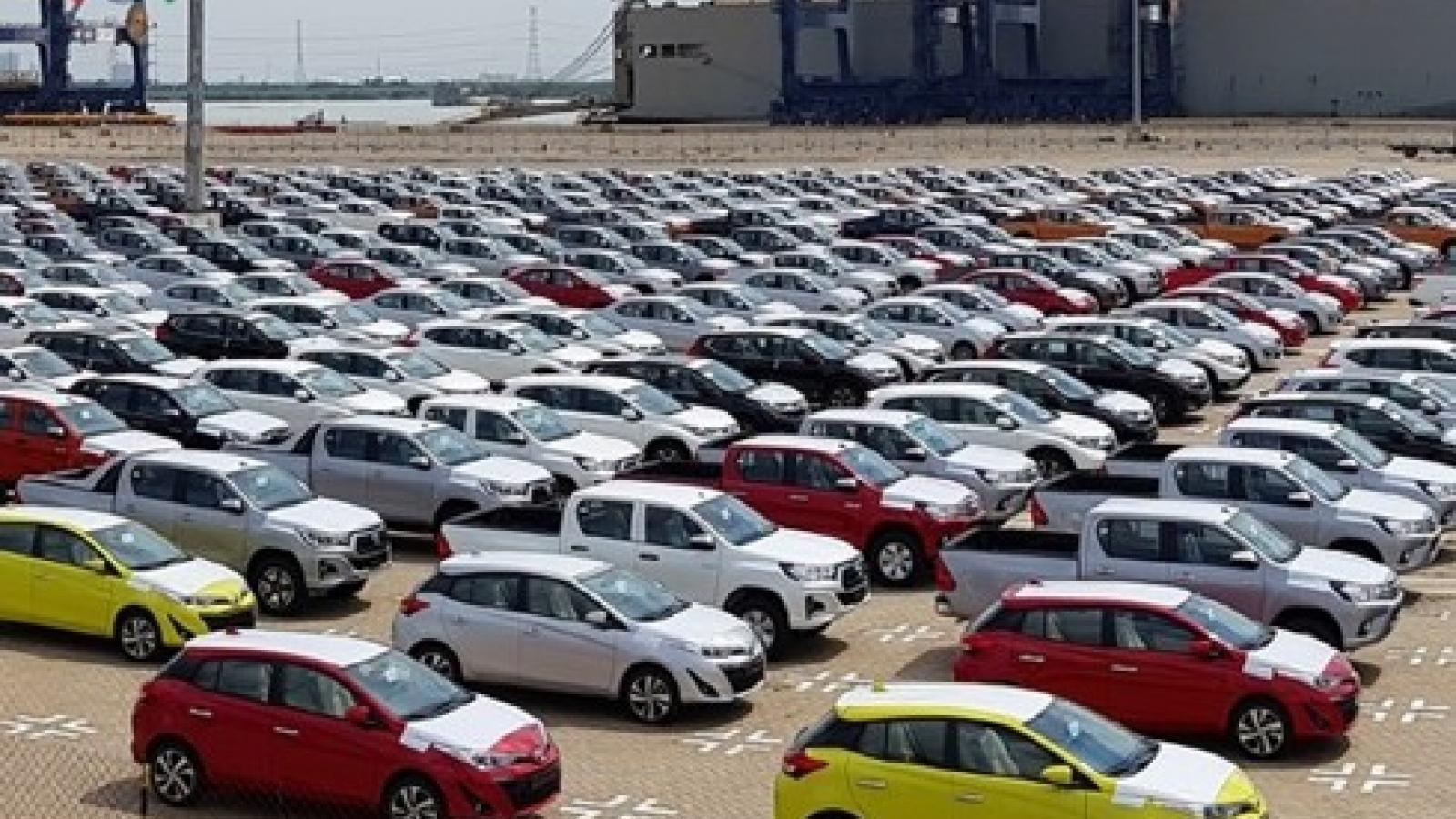 Việt Nam chi 224 triệu USD để nhập khẩu ô tô trong tháng 3/2020