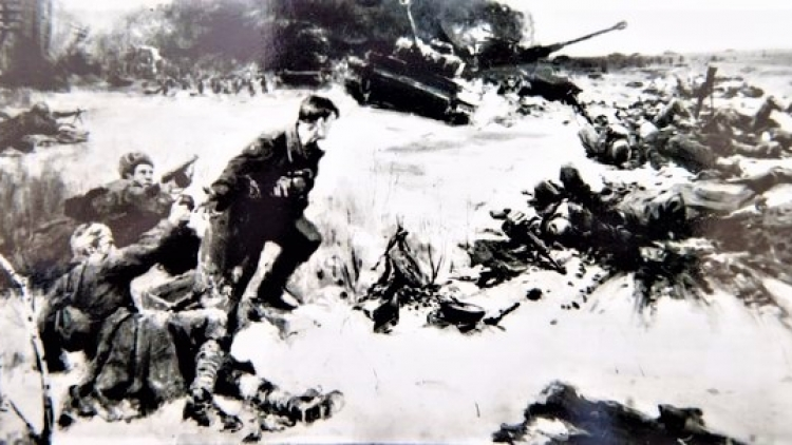 Trận đánh có 25 quân nhân được phong tặng danh hiệu Anh hùng Liên Xô