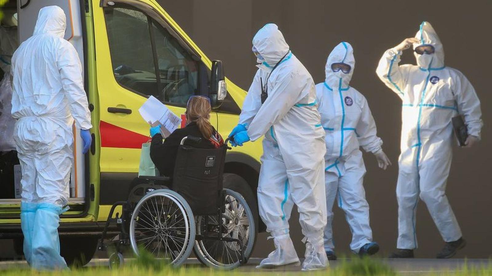 Nga ghi nhận dưới 9.000 ca nhiễm virus SARS-CoV-2 trong 24h