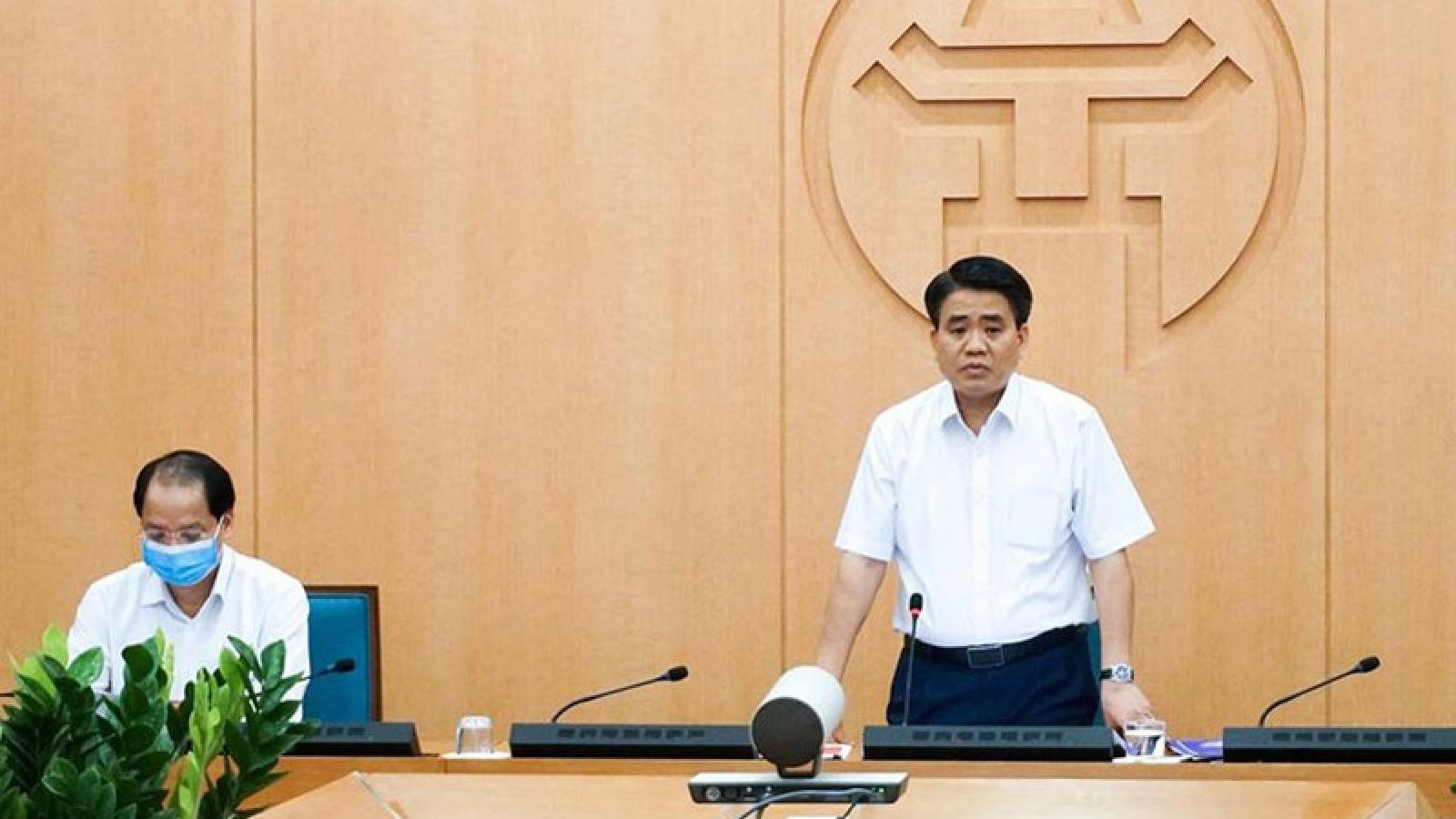 Chủ tịch Hà Nội đồng ý kết thúc cách ly tại thôn Hạ Lôi khi đến hạn 0h ngày 6/5 Thể hiện