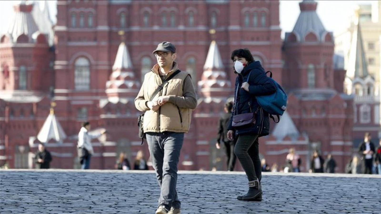 Nga trở thành điểm nóng mới của dịch Covid-19, số ca mắc cao thứ 7 thế giới