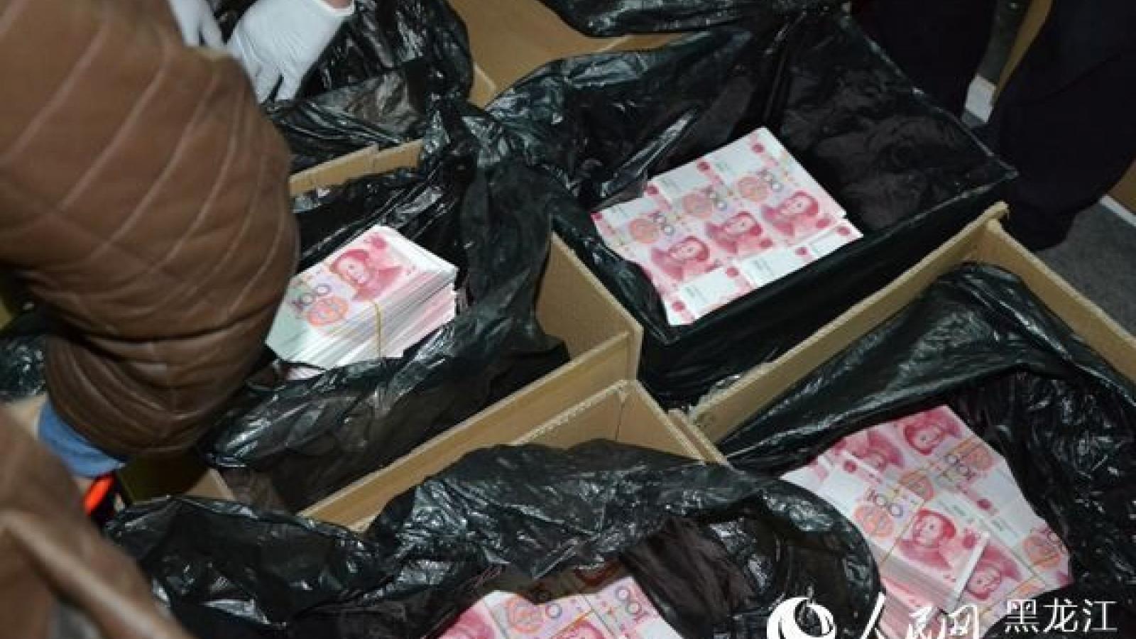 Trung Quốc phá vụ án sản xuất tiền giả lớn nhất từ trước đến nay