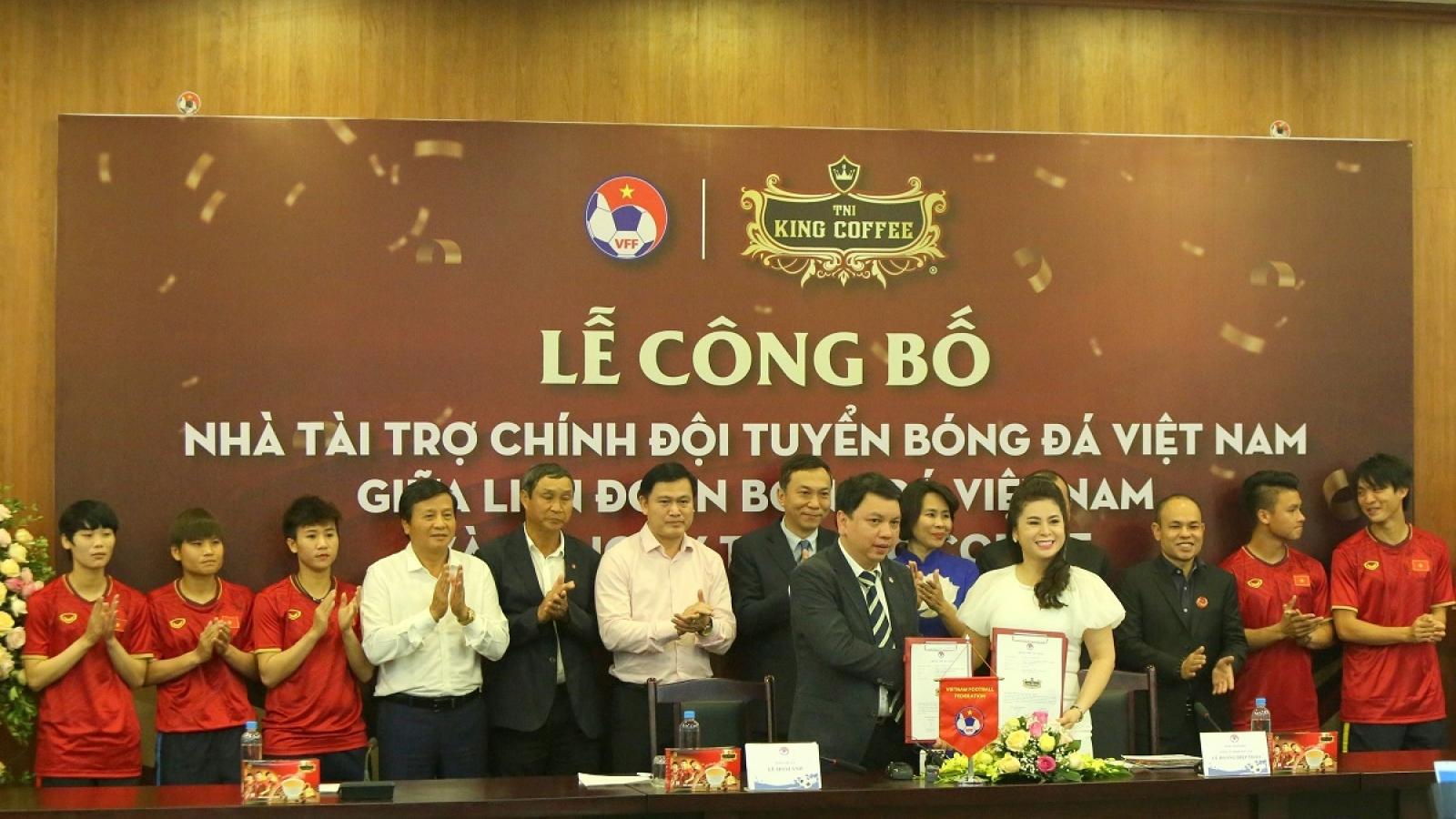 Bóng đá Việt Nam có thêm nhà tài trợ hướng tới AFF Cup và SEA Games