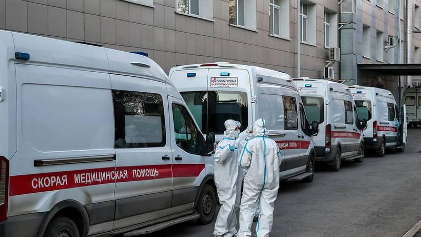 Nga ghi nhận hơn 177.000 ca mắc Covid-19, đứng thứ 5 thế giới