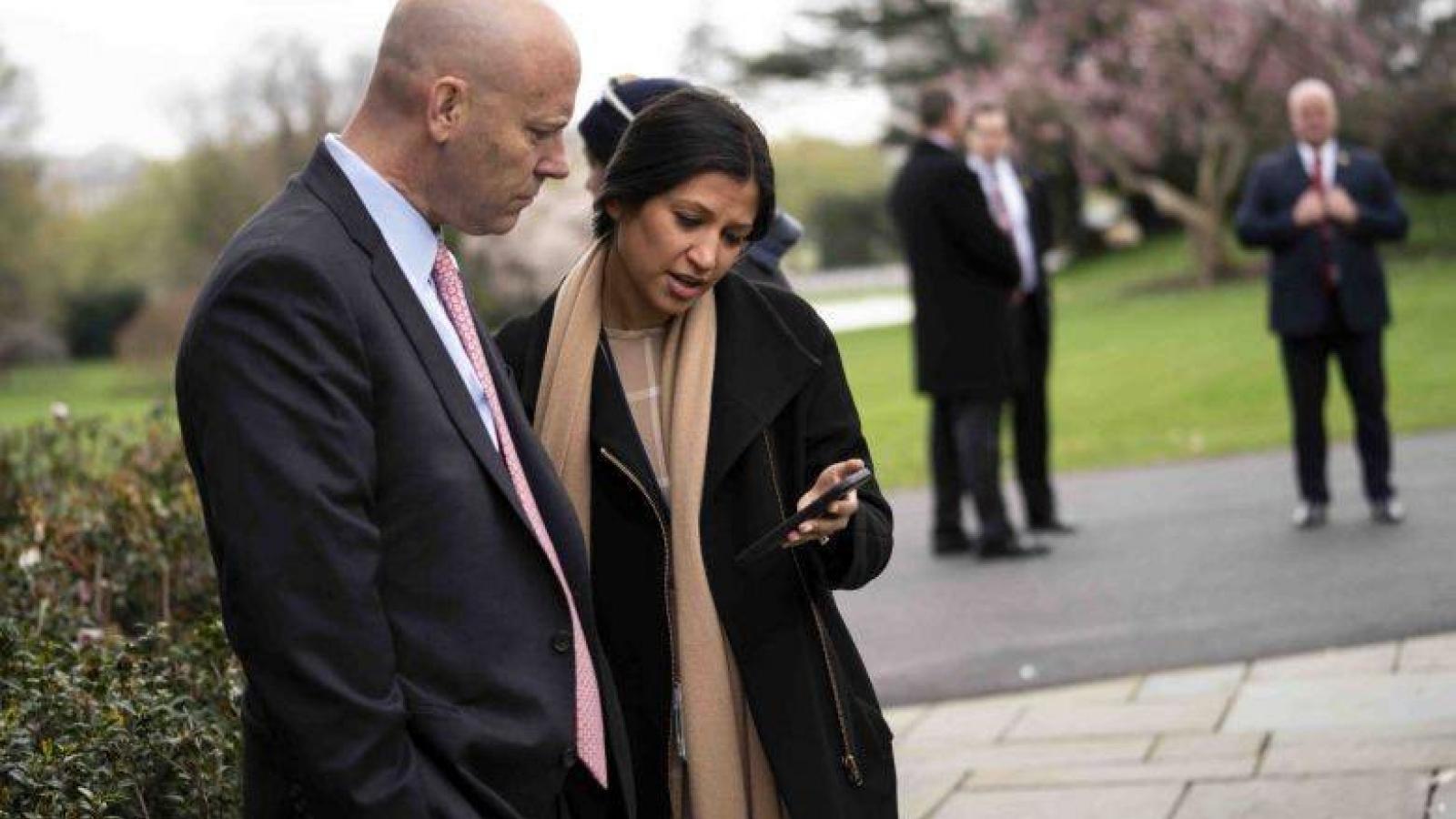 Thư ký báo chí Phó Tổng thống Mỹ đi làm trở lại sau khi khỏi Covid-19