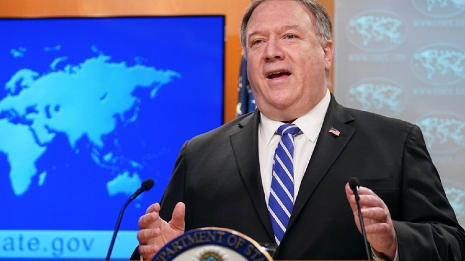 Ngoại trưởng Mỹ tiếp tục cáo buộc Trung Quốc giấu thông tin về Covid-19