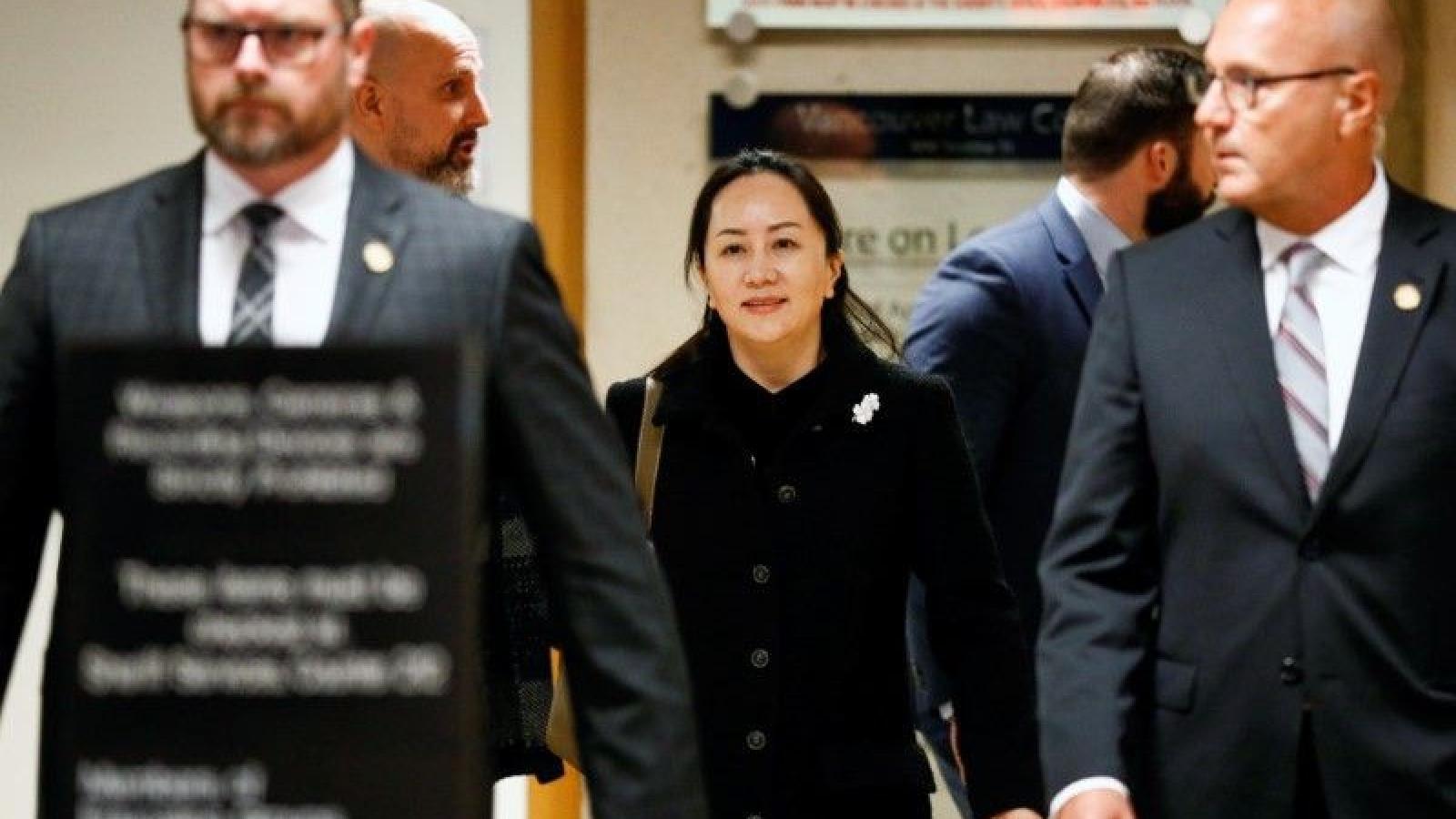 """Nút thắt Trung Quốc-Canada trước giờ tòa phán quyết """"công chúa"""" Huawei"""