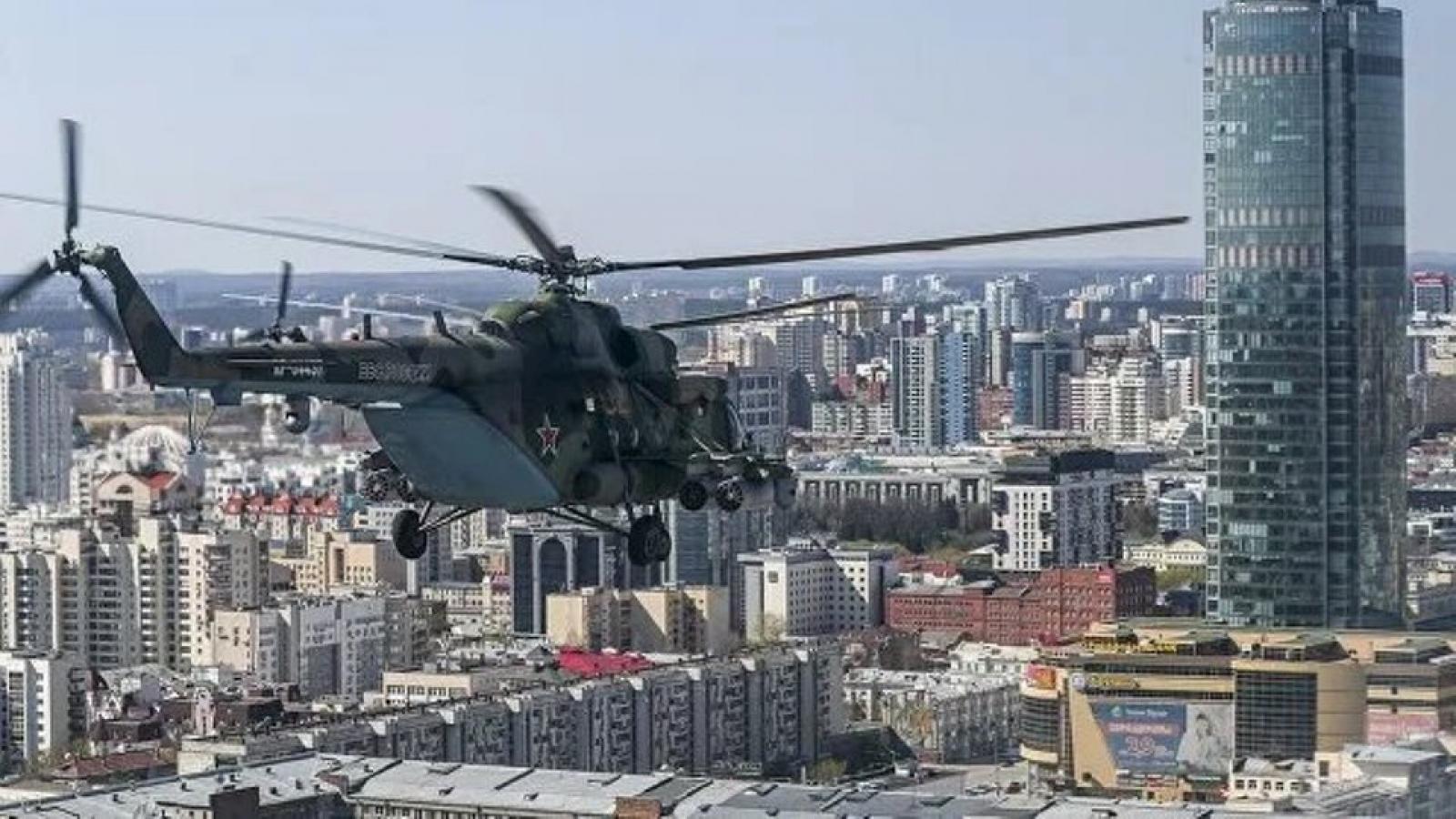 Nga tổ chức lễ diễu binh trên không ở 47 thành phố vào ngày 9/5