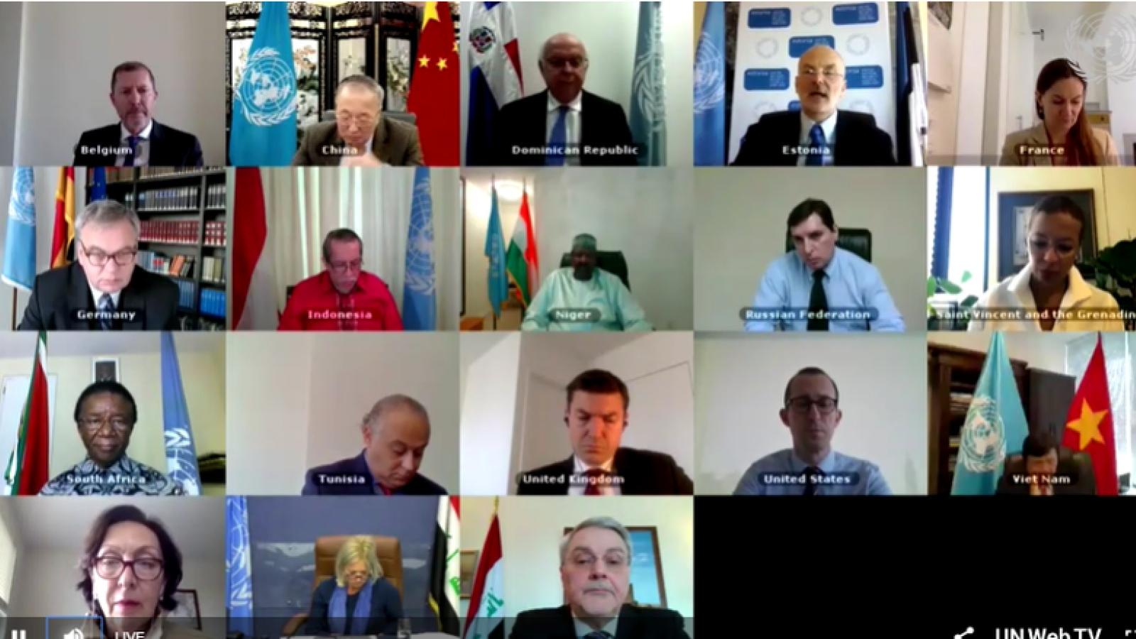 Hội đồng Bảo an Liên Hợp Quốc thảo luận về tình hình Iraq