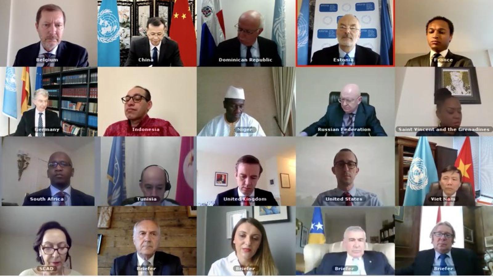 Hội đồng Bảo an LHQ thảo luận về tình hình Bosnia và Herzegovina